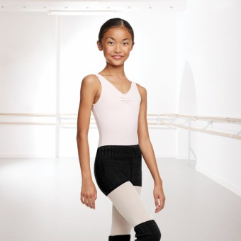 Capezio Knitted Shorts (Black)