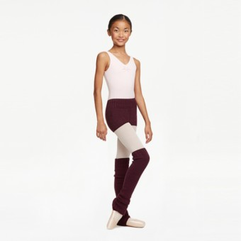 Capezio Knitted Legwarmers Purple
