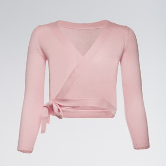 Capezio Wrap Sweater Pink Child Tots