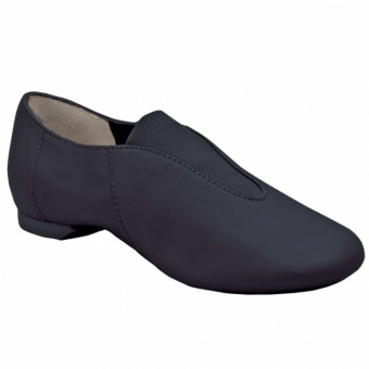 Capezio Childrens Show Stopper Split Sole Jazz Shoe (Black)