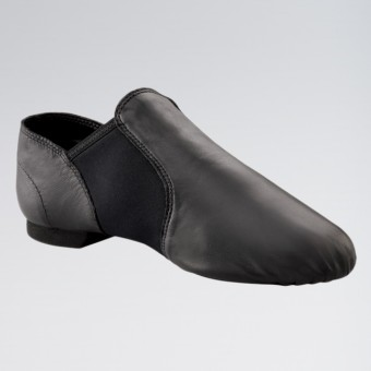 Capezio E-Series Jazz Slip on Shoe (Black)