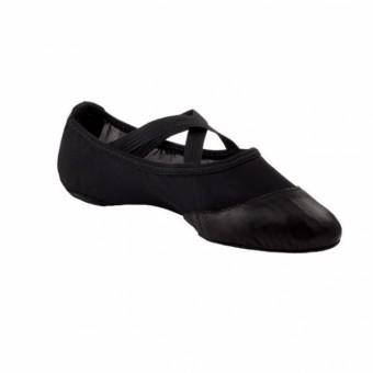 Capezio Breeze Schuhe mit geteilter Sohle (Black)