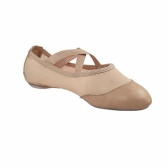 Capezio Breeze Schuhe mit geteilter Sohle (Nude)