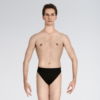 Capezio Lined Thong Dance Belt Black  Small