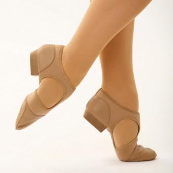 Capezio Pedini Femme Shoe (Caramel)