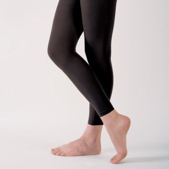 Capezio Essentials Footless Tights (Black)