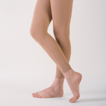 Capezio Essentials Footless Tights (Light Suntan)