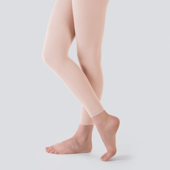 Capezio Essentials Footless Tights (Ballet Pink)
