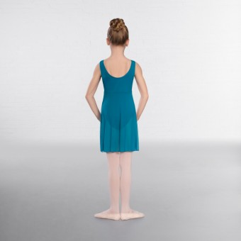 1st Position Mesh-Kleid (Teal)