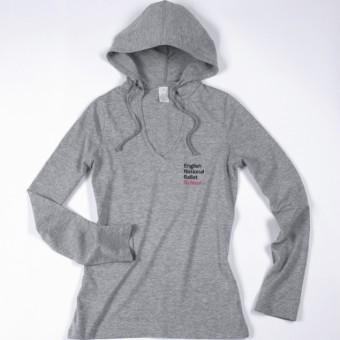 ENBS Lightweight Hooded T Shirt Grey