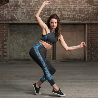 1st Position Breakwater Activewear Leggings (Charcoal)