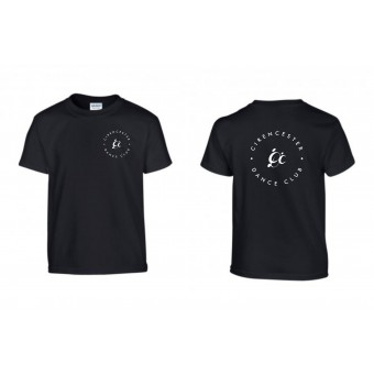 PP *#122#* Child T-Shirt (Black) with Cirencester Dance Club Logo
