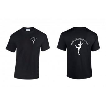 PP *#261104#* Child T-Shirt (Black) with Avon and Keyford Dance Logo - KEYFORD LOGO