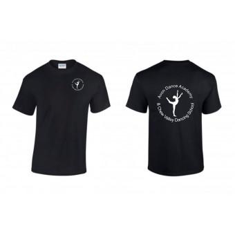 PP *#281165#* Child T-Shirt (Black) with Avon and Keyford Dance Logo - AVON and CHEW
