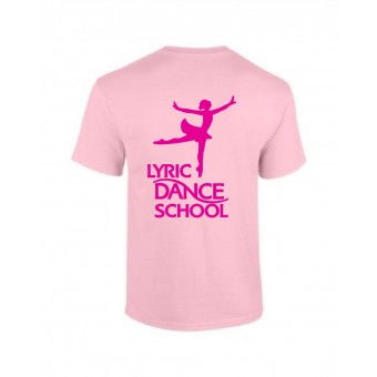 PP *#20094#* Child T-Shirt (Light Pink) with Lyric Dance Studio Logo