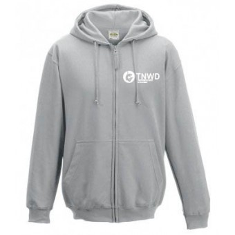 Child Zipped Hoodie (Heather) with TNWD Performing Arts Logo