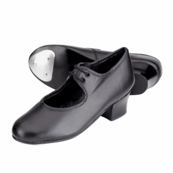 1st Position Leather Cuban Heel Tap Shoes