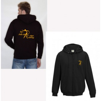 Child Hoodie (Black) with Robyn Academy Logo