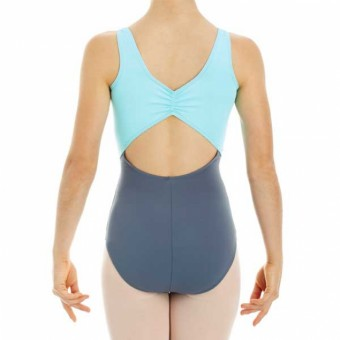 Intermezzo Two Tone Tank Leotard (Grey/Mint)