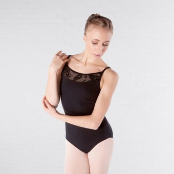 Intermezzo Bodystraptatu Sleeveless Lace Leotard