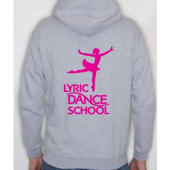 PP *#20093#* Child Hoodie (Heather) with Lyric Dance Studio Logo