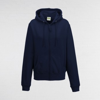 Ladies Fitted Hoodie (New French Navy)