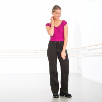 Ladies Fit Jog Pants (Black)