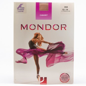 Mondor Cabaret Shimmery Tights (Copper)