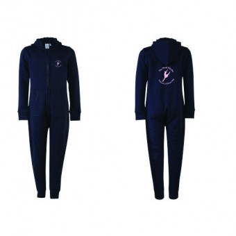 SF Minni Kids All In One (Navy Blue) with Heidi Rhodes School Of Dancing Logo