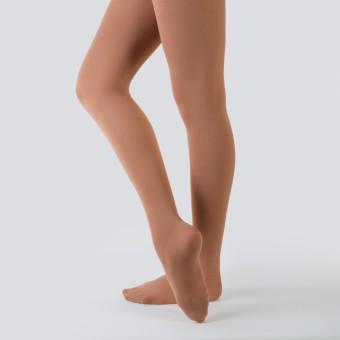 Nude Barre Footed Tights (Irish Cream)