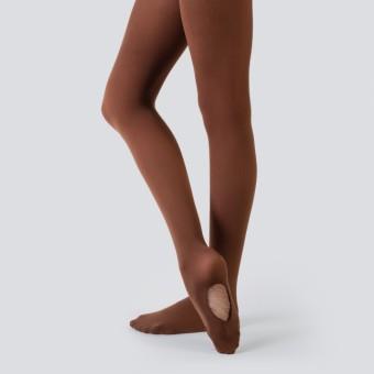 Nude Barre Convertible Opaque Tights (Cocoa)