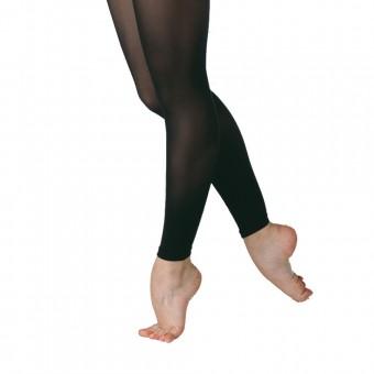 Plume Footless Tights (Black)