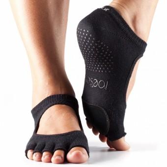ToeSox Plié ohne Zehen (Black)