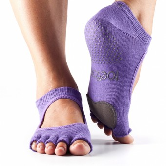 ToeSox Plié Half Toe (Purple)