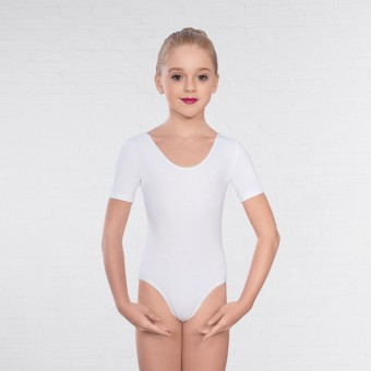 1st Position Kate Pre/ Primary Leotard (White)