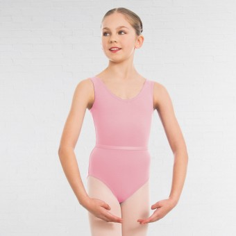 1st Position - Maillot Laura para Grados I, II y III (Pale Pink)
