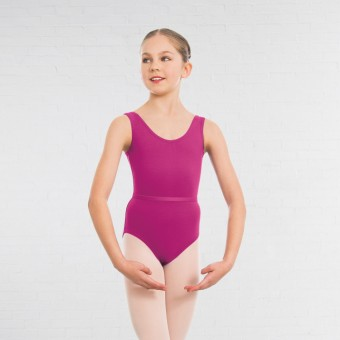 1st Position Laura Grades 1-5 Leotard (Mulberry)