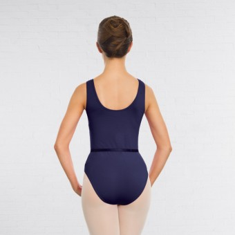 1st Position Anne Grades III/V Leotard (Navy Blue)