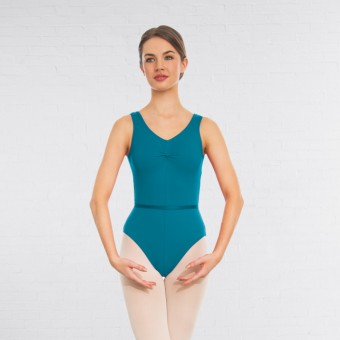 1st Position Anne Grades III/V Leotard (Teal)