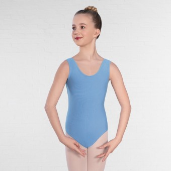 1st Position Laura Primary/Grade IV Leotard (Sky Blue)