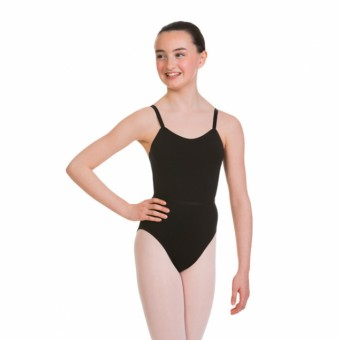 1st Position Susan Camisole Leotard (Black)