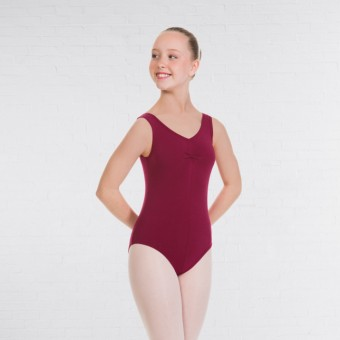 1st Position Angela Style Pre-Int/Int Leotard (Burgundy)