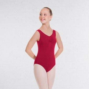 1st Position Angela Style Pre-Int/Int Leotard (Plum)