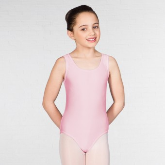 1st Position Laura Vest Leotard (Pale Pink)