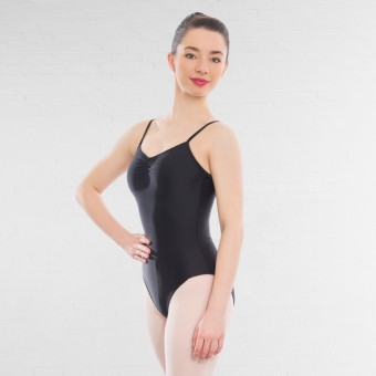 1st Position Camisole Leotard (Black)