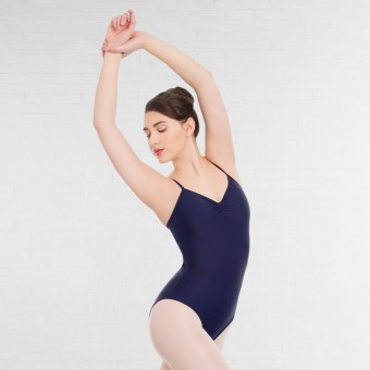 1st Position Camisole Leotard (Navy Blue)