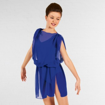 1st Position Lyrical Tunic Sapphire Child Large
