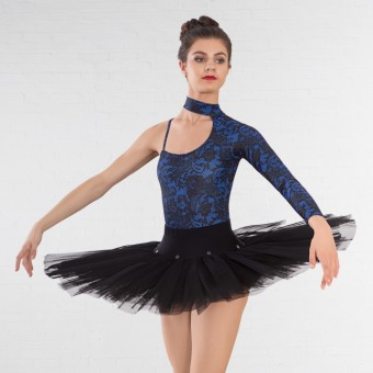 1st Position Ballet Practice Tutu Skirt (Black)