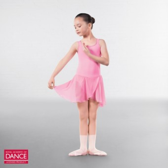 RAD Approved Sophia Princess Line Skirted Leotard (Pink)
