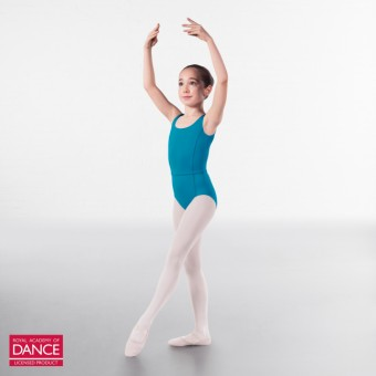 RAD Approved Megan Princess Line Sleeveless Leotard (Teal)